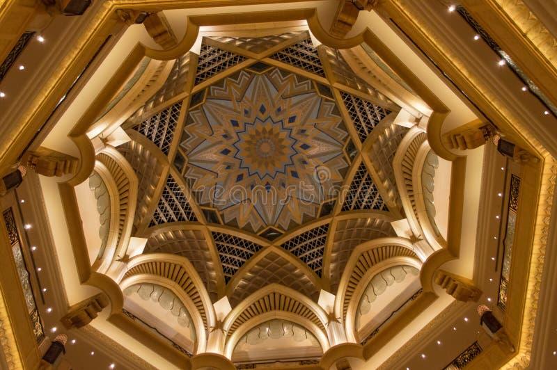 Emiratslott royaltyfri fotografi