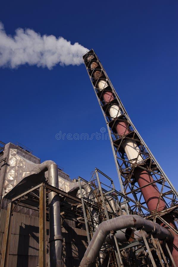 emisja gazuje zanieczyszczenie obraz stock
