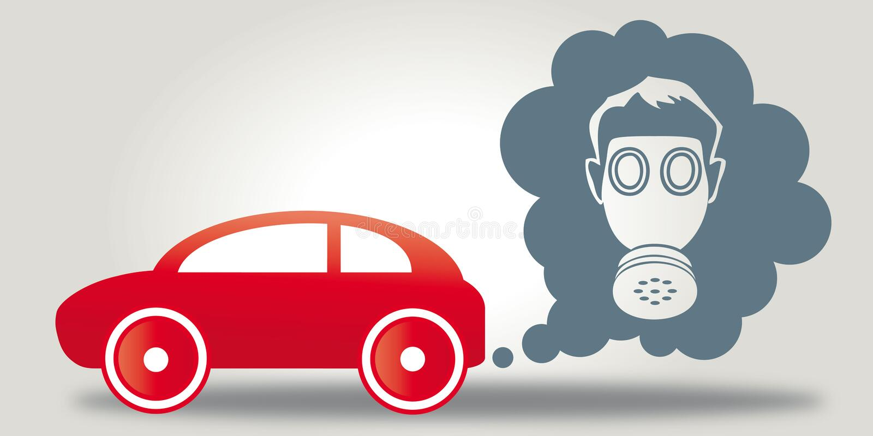 Emissie-bedriegend schandaal vector illustratie