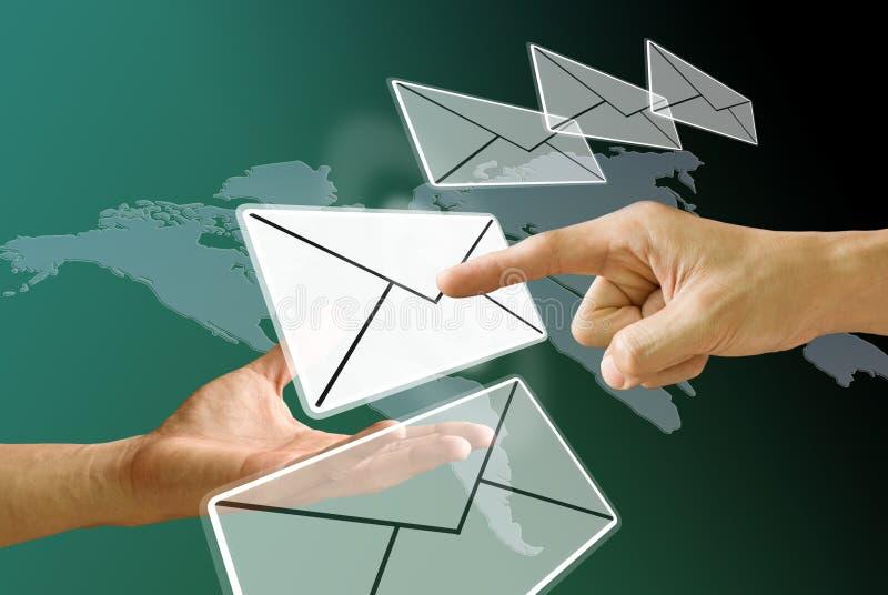 Emita o email imagens de stock royalty free