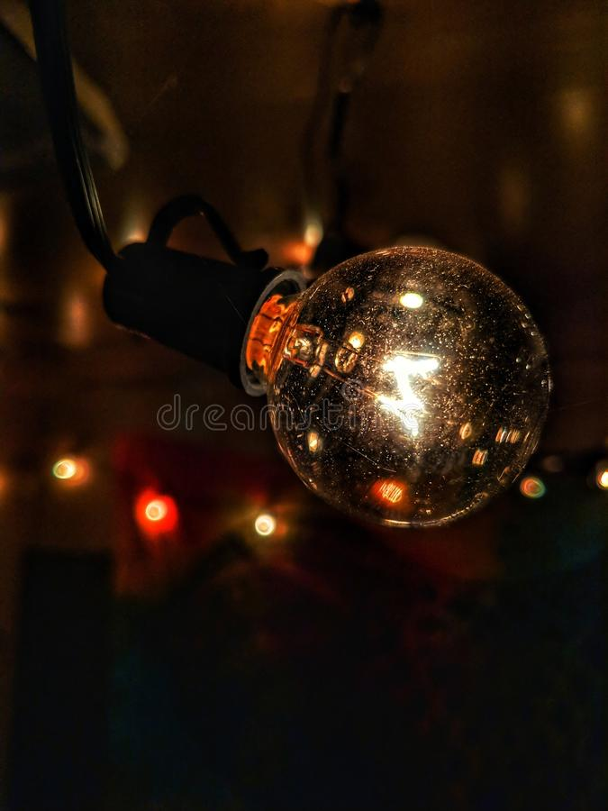 Emivita di luce immagine stock