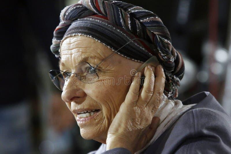 Emma bonino, Italy obrazy stock