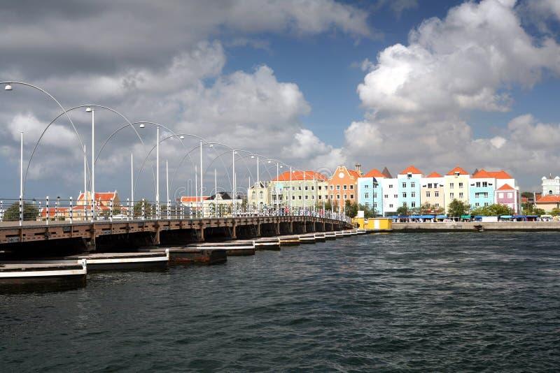 Emma-Brücke - Curaçao stockbild