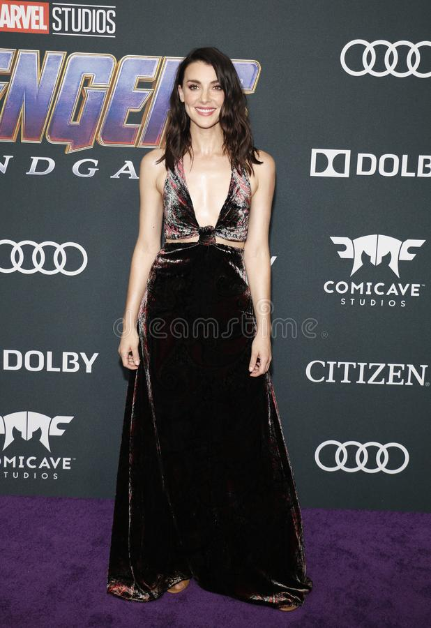 Emma Lahana. At the World premiere of `Avengers: Endgame` held at the LA Convention Center in Los Angeles, USA on April 22, 2019 stock photography