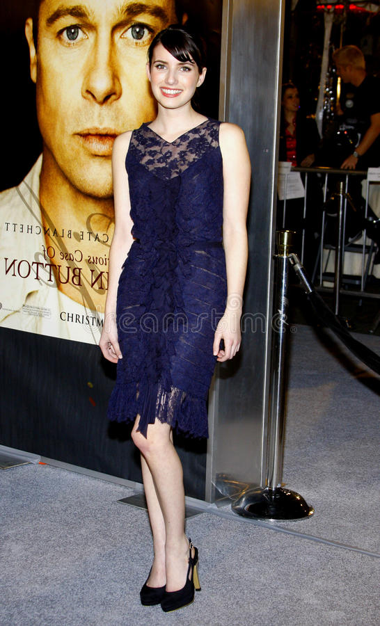 Emma Roberts immagini stock