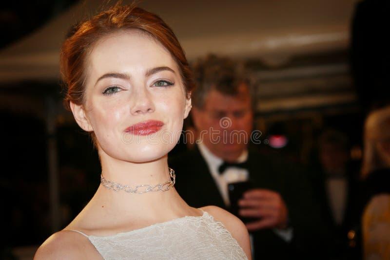 Emma Stone foto de archivo libre de regalías
