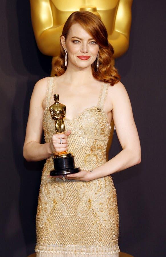 Emma Stone image libre de droits