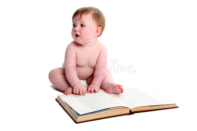 Download Emma with textbook stock photo. Image of textbook, child - 27334978