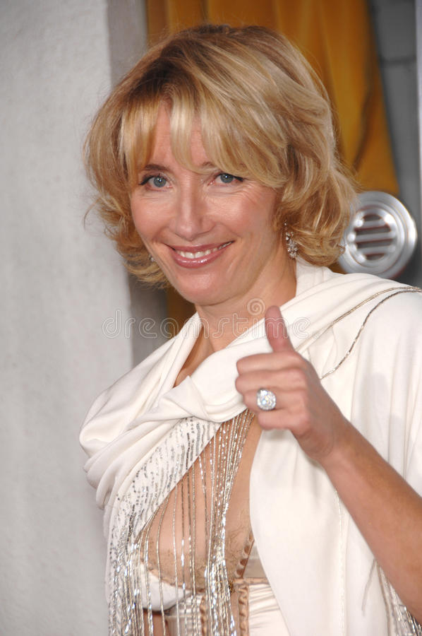 Emma Thompson. At the Los Angeles premiere of her new movie Stranger than Fiction. October 30, 2006 Los Angeles, CA Picture: Paul Smith / Featureflash stock images