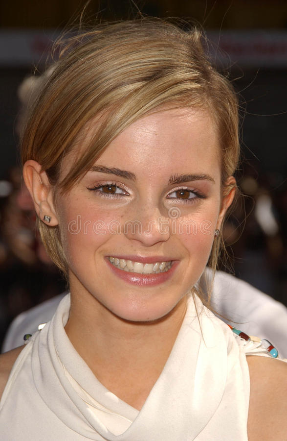 Emma Watson. At the premiere of Harry Potter and The Order of The Phoenix. Grauman's Chinese Theatre, Hollywood, CA. 07-08-07 royalty free stock photography