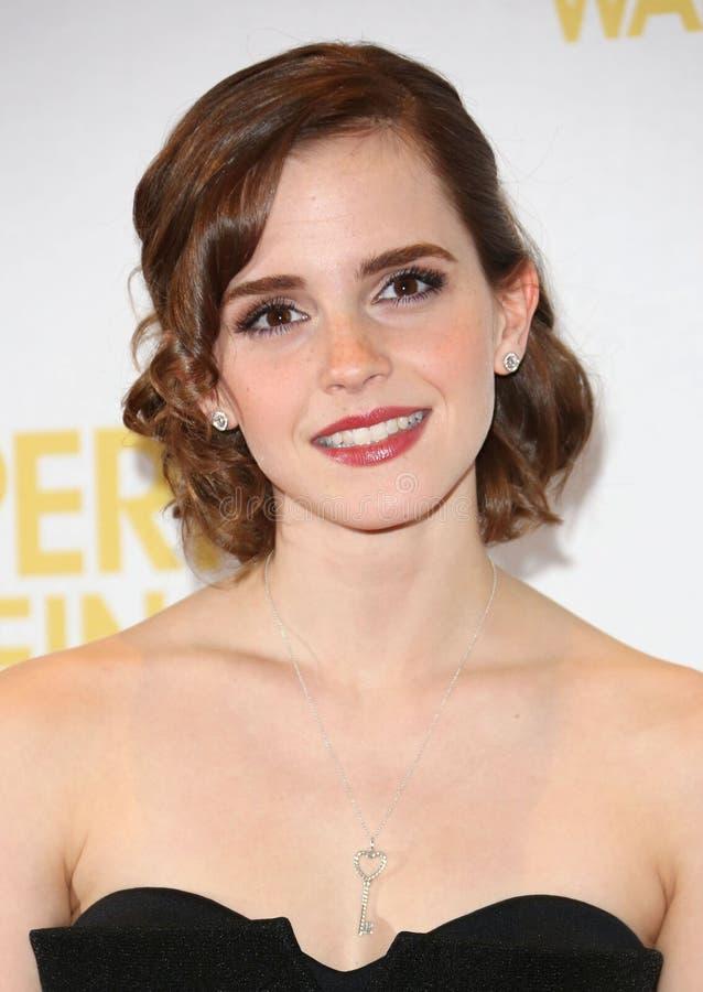 Emma Watson photographie stock