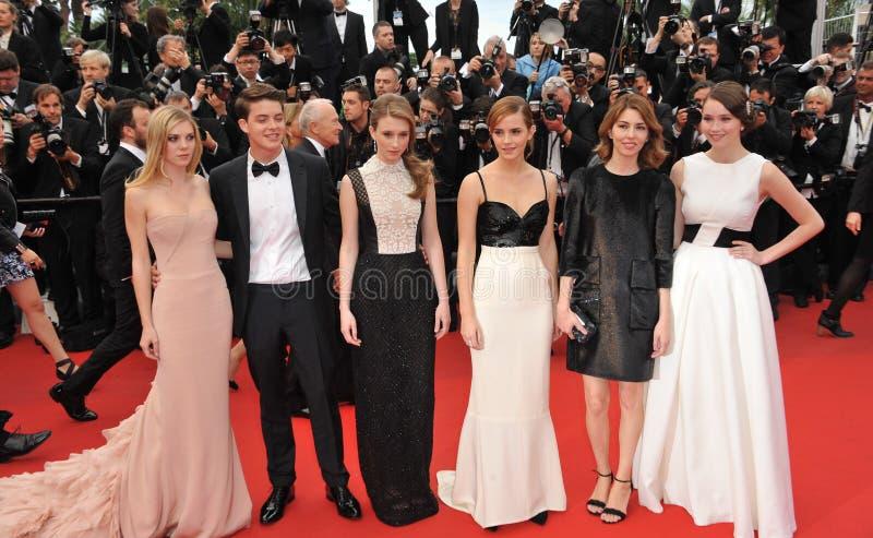 Emma Watson, Sofia Coppola photos libres de droits