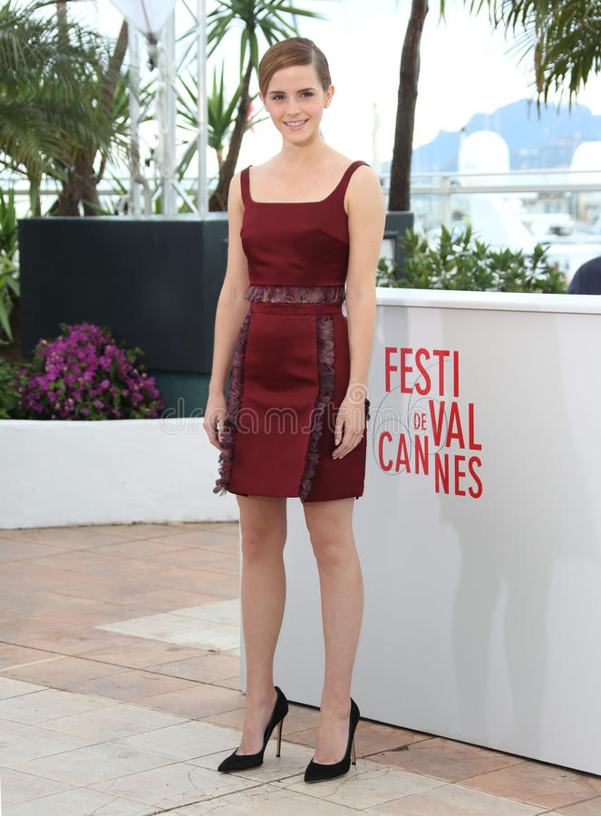 Emma Watson. At the 66th Cannes Film Festival - The Bling Ring photocall, Cannes, France. 16/05/2013 Picture by: Henry Harris / Featureflash royalty free stock images
