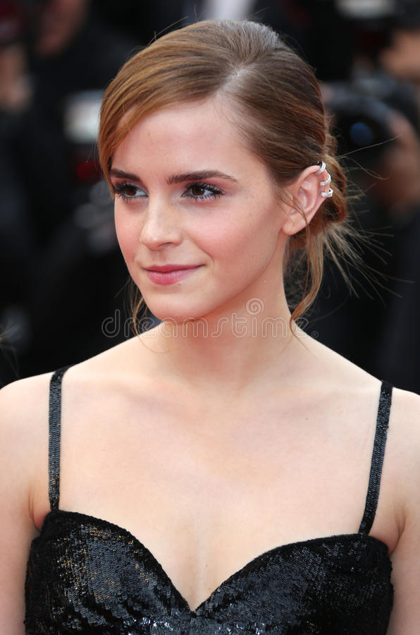 Emma Watson. At the 66th Cannes Film Festival - The Bling Ring premiere Cannes, France. 16/05/2013 Picture by: Henry Harris / Featureflash royalty free stock images