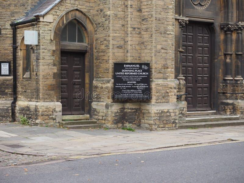 Emmanuel Church in Cambridge royalty-vrije stock foto's