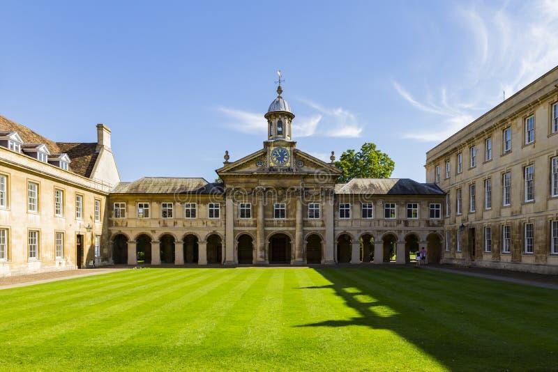 Emmanuel College fotografie stock libere da diritti