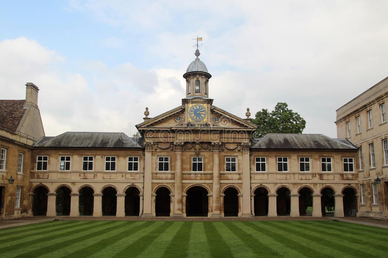 Emmanuel College, Cambridge, England. Emmanuel College is a constituent college of the University of Cambridge stock photography