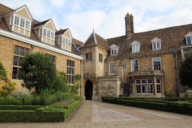 Emmanuel College, Cambridge, England royalty free stock photos