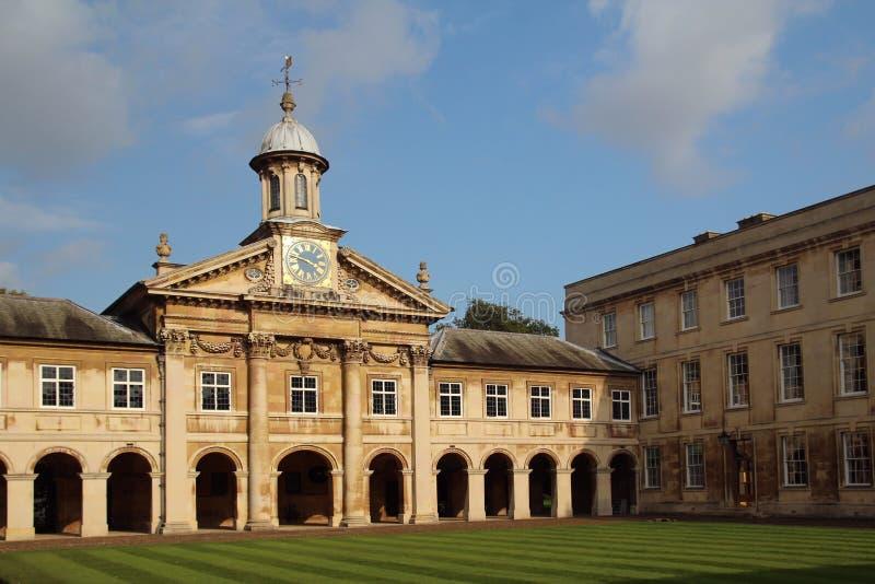 Emmanuel College, Cambridge, England royalty free stock images