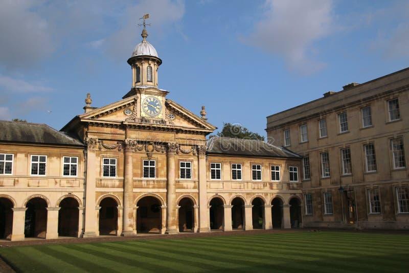 Emmanuel College, Cambridge, England stock photos