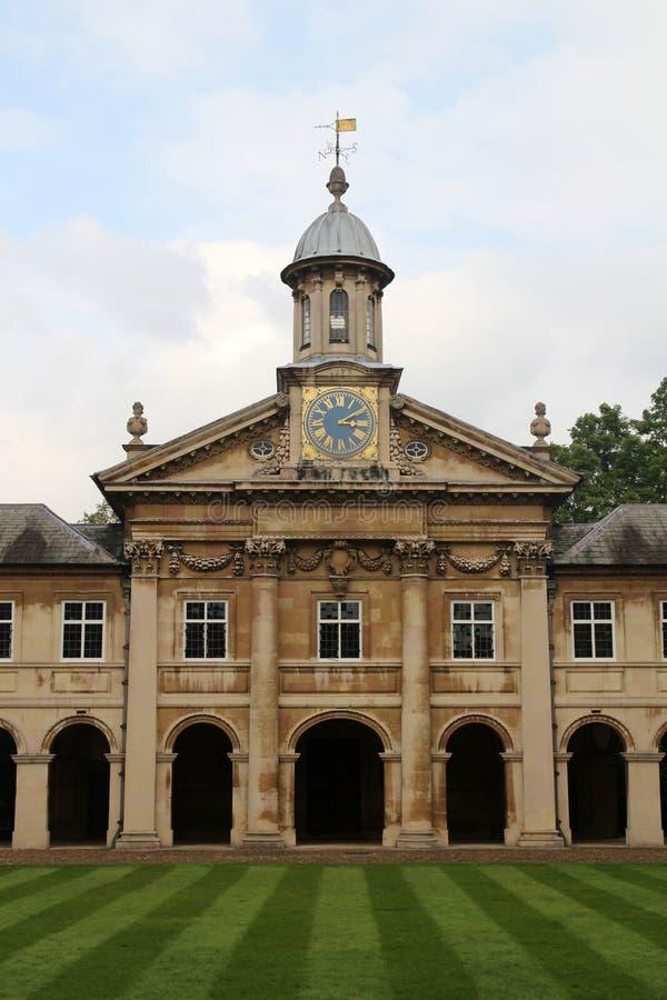 Emmanuel College, Cambridge, Inglaterra fotografía de archivo