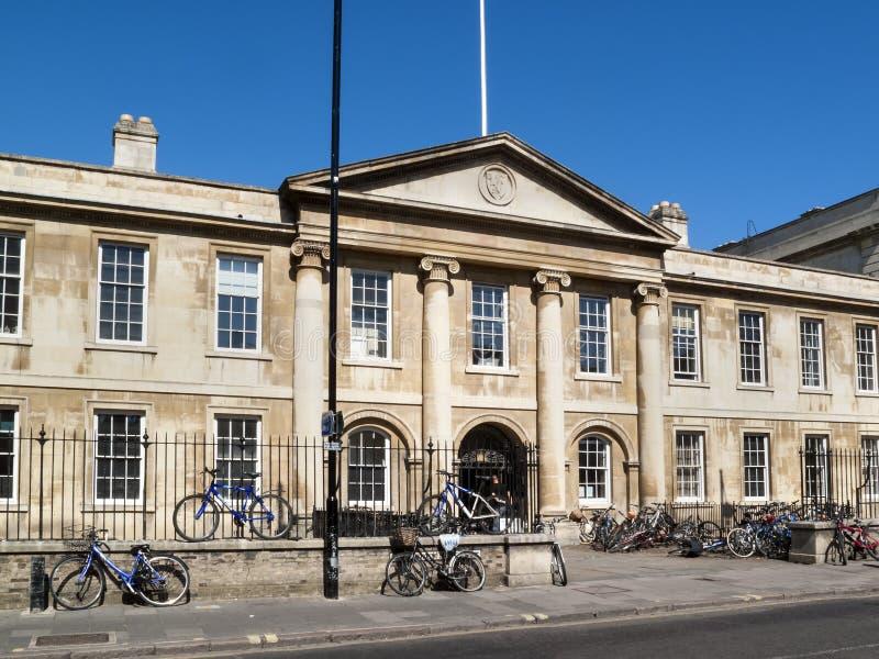 Emmanuel College Cambridge University immagini stock