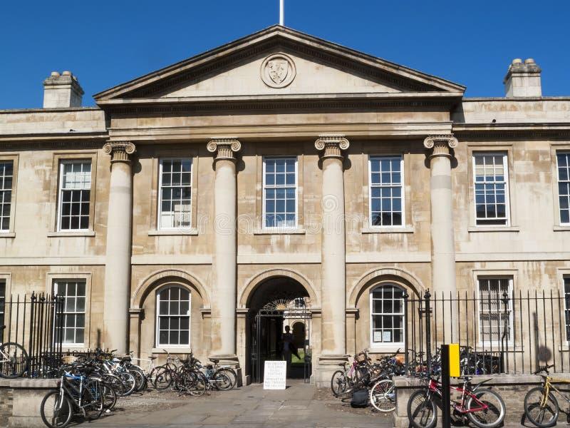 Emmanuel College Cambridge University lizenzfreies stockbild