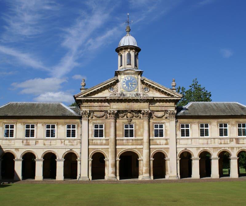 Emmanuel College Chapel stock photo