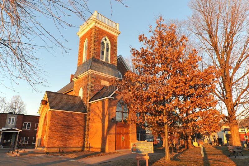Emmanuel Jednoczył kościół fotografia stock