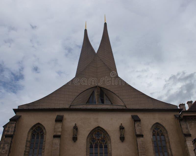 Emmaus kloster royaltyfri fotografi