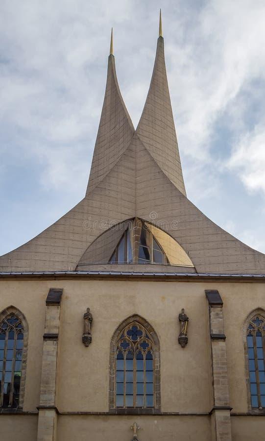 Emmaus kloster, Prague fotografering för bildbyråer