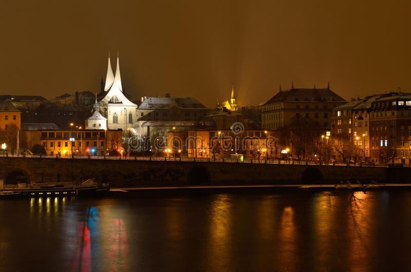 Emmaus le monastère bénédictin à Prague photographie stock