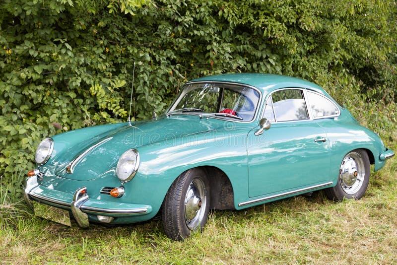 Emmering, Germany, 19 September 2015: Porsche vintage car. Porsche vintage car, auto, outdoor royalty free stock images