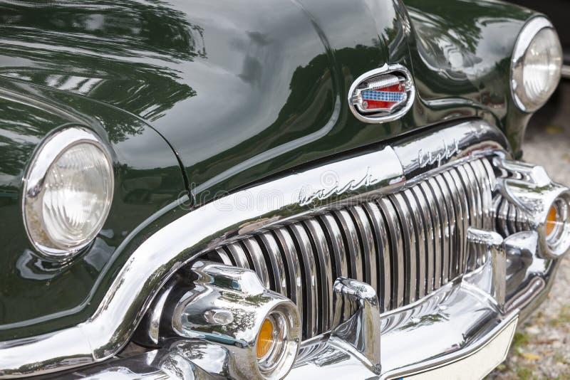 Emmering Tyskland, 19 September 2015: Bil för Buick ljustappning arkivfoto