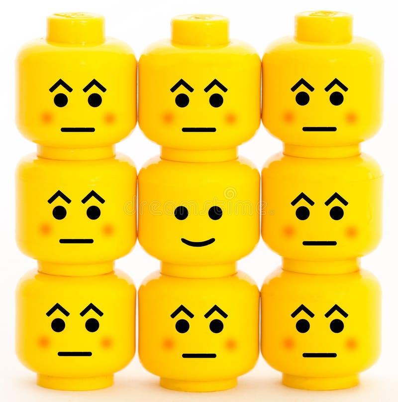 Emoção foto de stock
