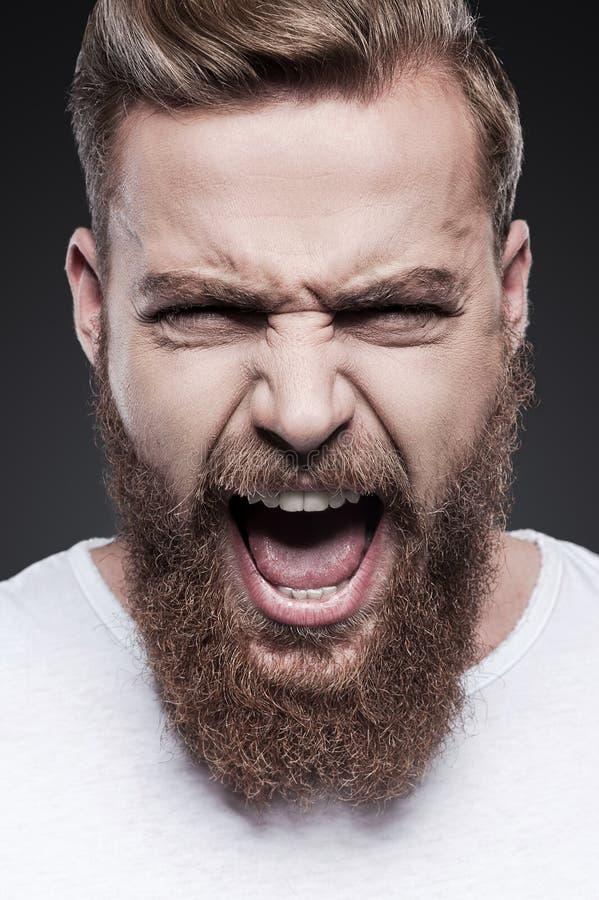 Emoções desencadeadas imagens de stock royalty free