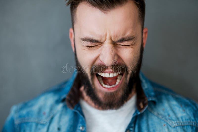 Emoções desencadeadas foto de stock royalty free