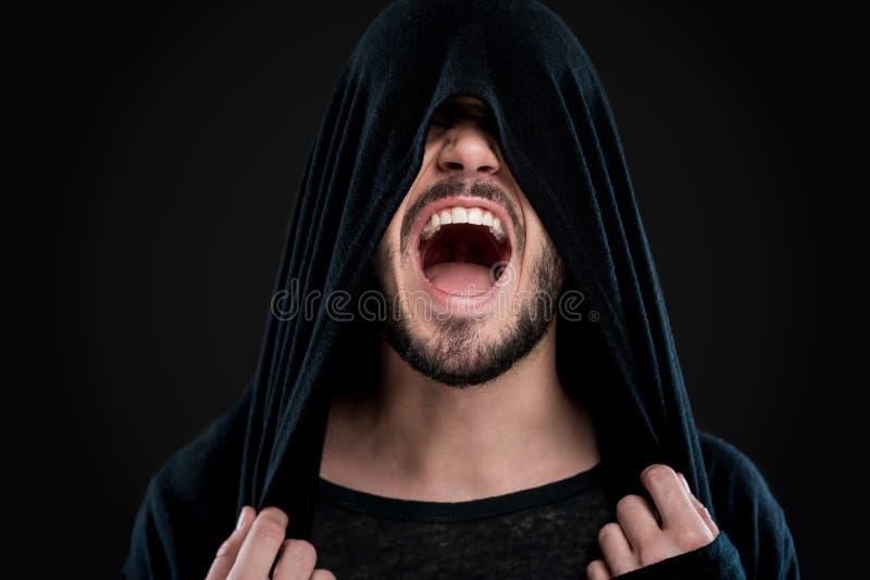 Emoções desencadeadas imagem de stock