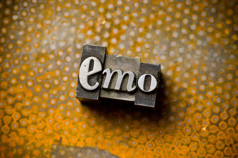 Emo stock afbeelding