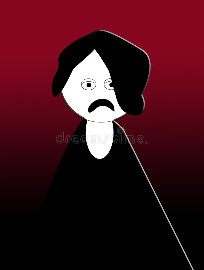 Download Emo Cartoon Royalty Free Stock Images - Image: 6445859