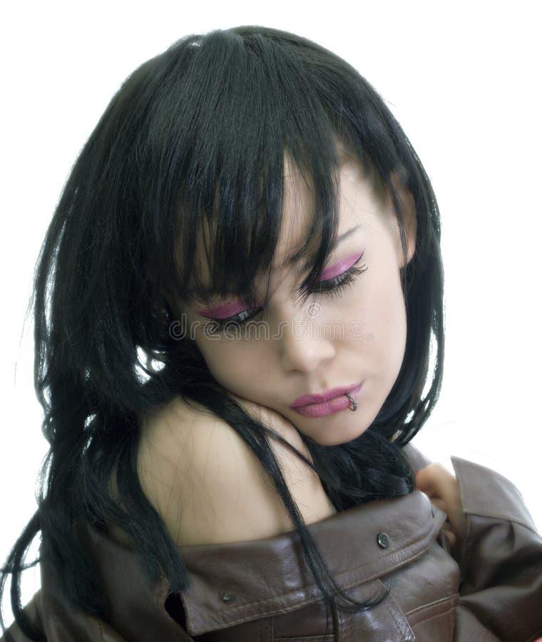 emo dziewczyna zdjęcia stock