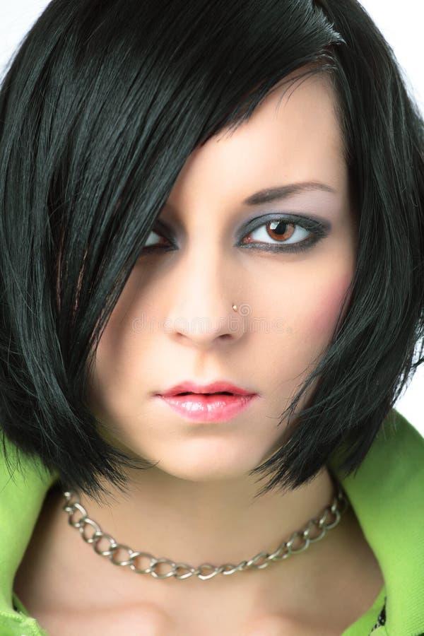 Emo Dziewczyny Portret Bezpłatna Fotografia Stock