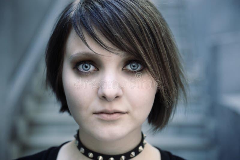 Emo o goth fotografie stock libere da diritti