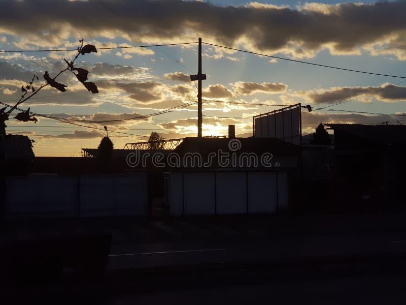 Emoción en el cielo foto de archivo