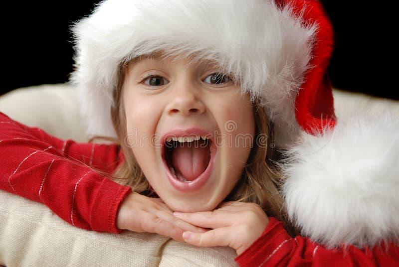 Emocionado fotografía de archivo libre de regalías