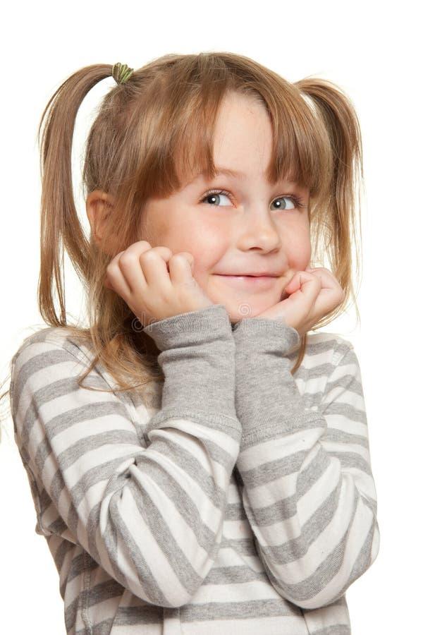 Emociones del niño fotografía de archivo libre de regalías