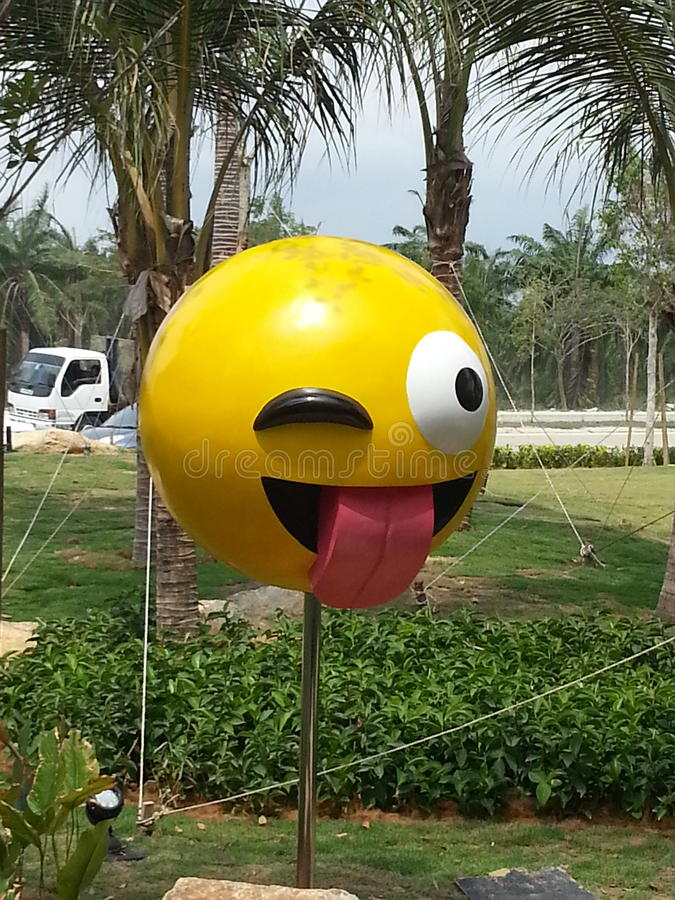 Emoji photos libres de droits