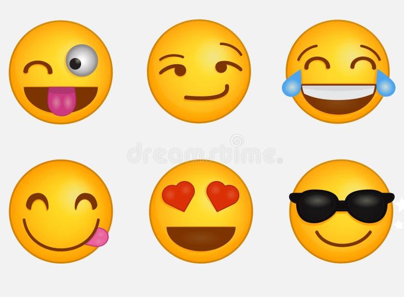 Emoji imágenes de archivo libres de regalías