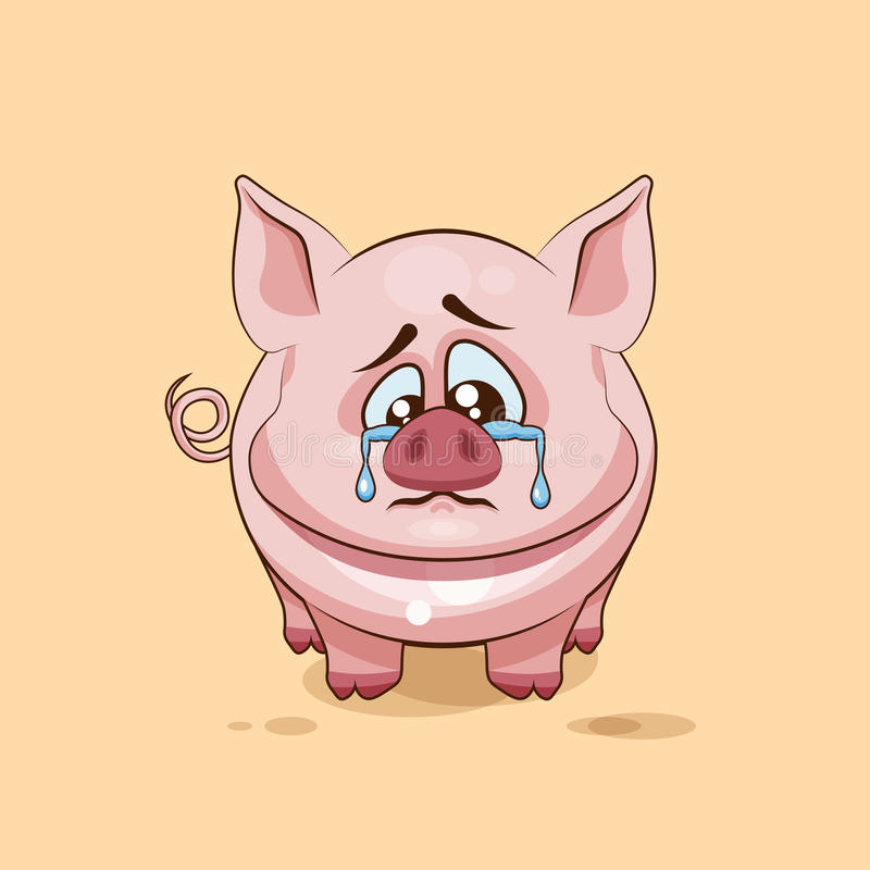 Emoji character cartoon sad and frustrated pig crying tears sticker download emoji character cartoon sad and frustrated pig crying tears sticker emoticon stock vector voltagebd Choice Image
