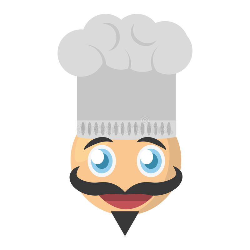 emoji chef expression image royalty free illustration